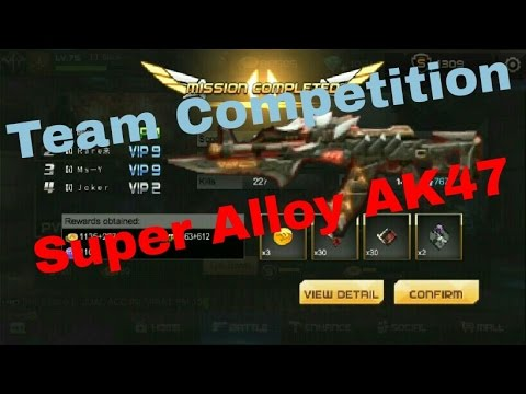 TEAM COMPETITION PAKE SUPER ALLOY AK47 | TEAM INDONESIA | REBELS
