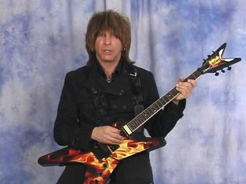 Michael Angelo Batio Guitar Lesson TAB Part 1