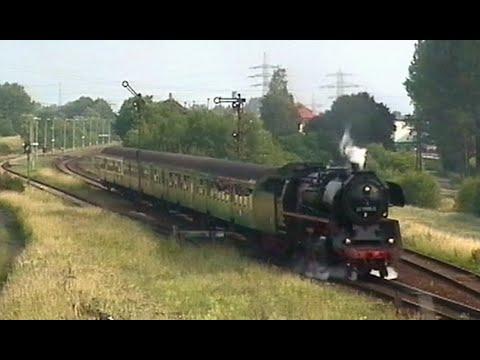 Dampflok-Sound vom Feinsten - Dampflok 41 1185-2 Regional-Express Eisenach - Meinigen - Eisenach