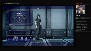 Let's play Final Fantasy XV part 2