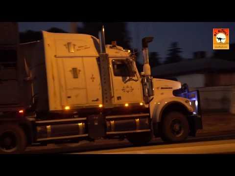 B Double And Oversize Australian Trucks - Mildura On The River Murray, Victoria