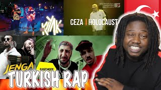 TURKISH RAP REACTION ft.  Khontkar, Grogi, Ben Fero, Zen G, Emza & Ceza