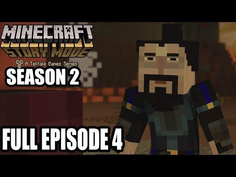 Minecraft Story Mode Season 2 FULL Episode 4 Gameplay Walkthrough – No Commentary