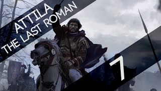 Assedio di Siracusa #7 Attila Total War The Last Roman Gameplay ITA