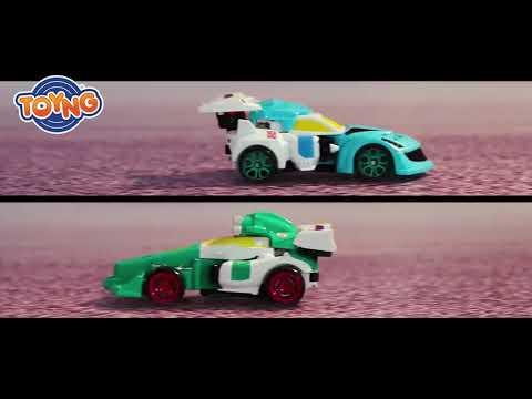 Carrinho Robô com Luz e Som - Auto Robótico - 42459