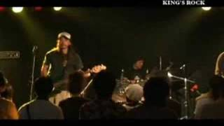 2008/6/28 KING'S ROCK @福島 KING'S Match Box 出演: BLACK SWAN SHEFFIELD / Bathroom Guitar Club / SLAVE of QUEEN / California王(King)#1.