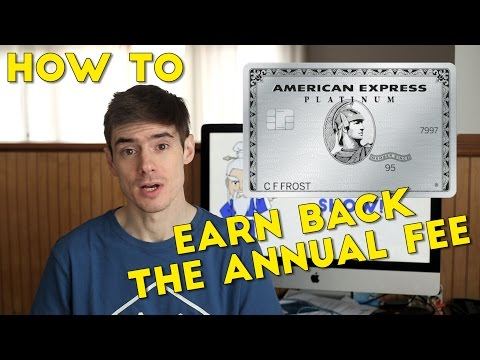 Maximizing Amex Platinum Benefits (Offsetting the annual fee)