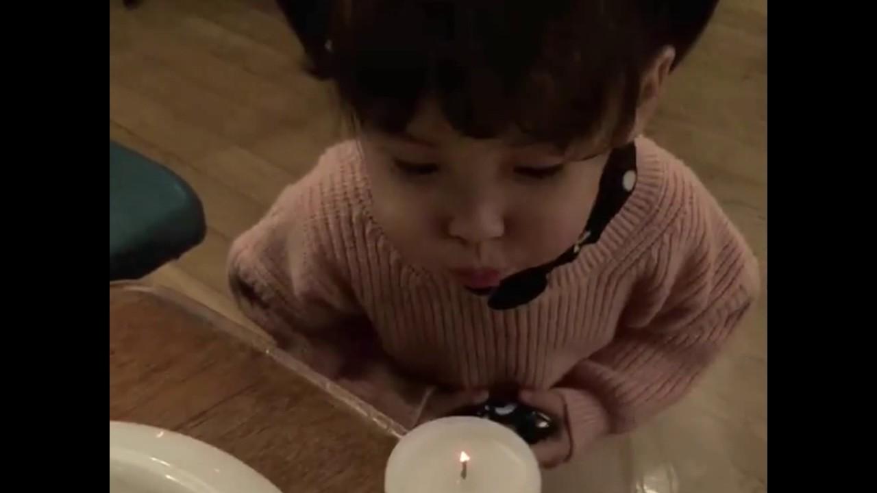 smoking Cute korean girl