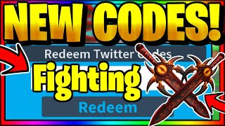 ALL *NEW* OP WORKING CODES! UPDATE 1! 🥊 BOSS   👊 Roblox Fighting Simulator