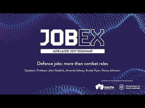 Defence jobs:  more than combat roles