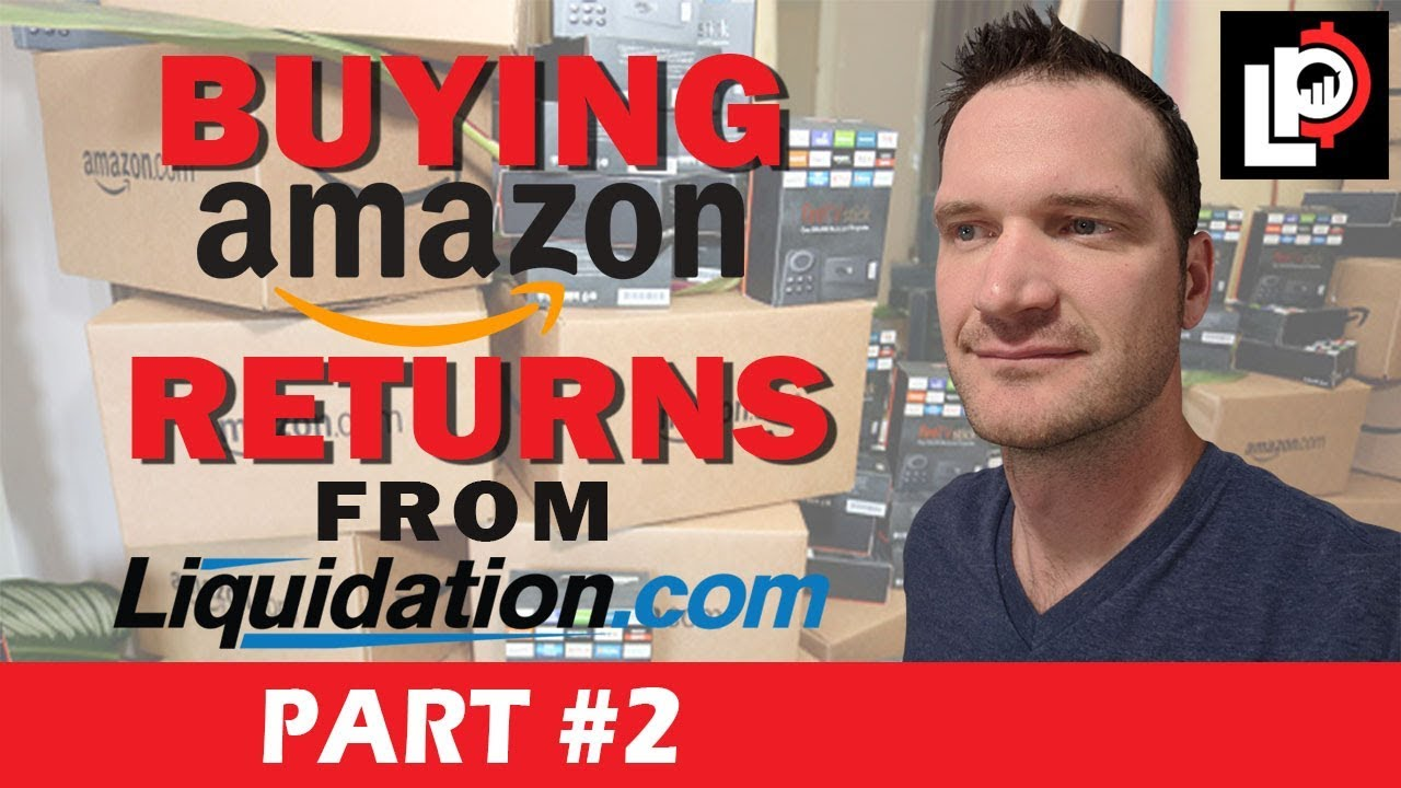 Unboxing Amazon Returns from Liquidation com to Sell on Ebay, Pallet #1  *Part 2*