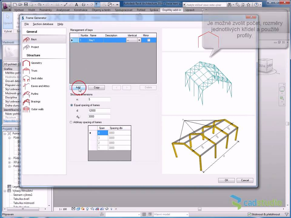 Revit Frame Generator - YouTube