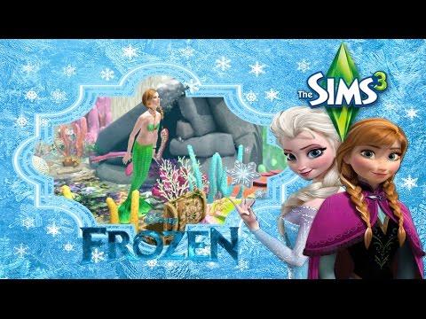 The Sims 3 Frozen #17 นางเงือก ดำดิ่งสู่ห้วงทะเล