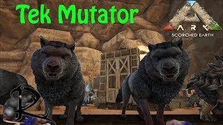 Ark Scorched Earth -- Tek Mutator Machine