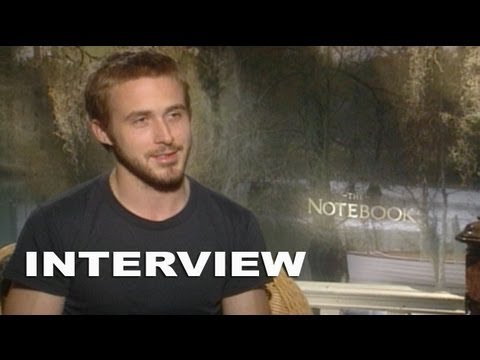 The Notebook: Ryan Gosling Exclusive Interview - YouTube