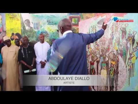 """Dakar'art 2018 : """"Quelle humanité pour demain"""",une exposition d'Abdoulaye Diallo"""