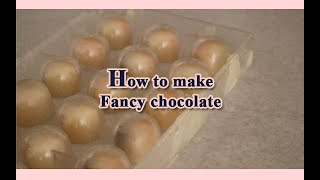 별구름초콜릿에서 초콜릿 만드는 방법
