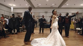 EPIC Groom and Groomsmen Dance with Bride!! Shot on Sony a6500