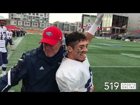 OFSAA Central Bowl - Jacob Hespeler Hawks vs Gananoque Trojans