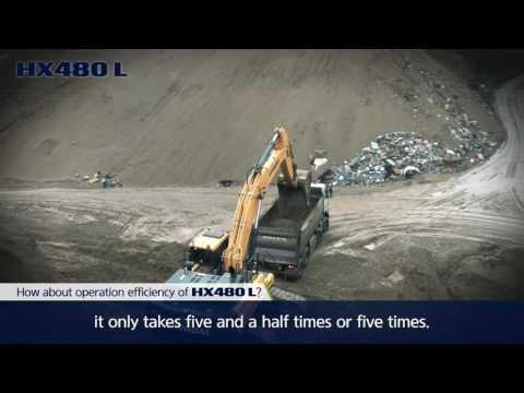 Hyundai HX480L Customer Testimonial