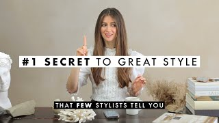 The #1 Secret Y๐u MUST Know To Have Great Style