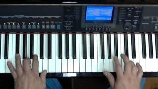 Als het om de liefde gaat   - Sandra & Andres - Keyboardlessons Yamaha, Tyros, PSR or CVP