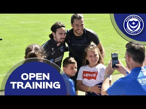 Pompey Host Open Training Session At Fratton Park