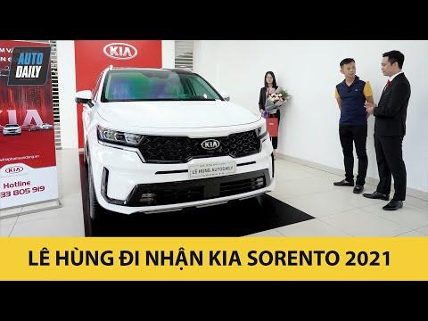 Lê Hùng đi nhận Kia Sorento 2021 bản cao cấp nhất |Autodaily.vn|