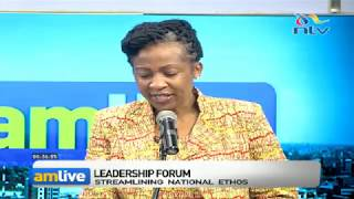Leadership Forum: Ethos is about community - Truphosa Kwaka