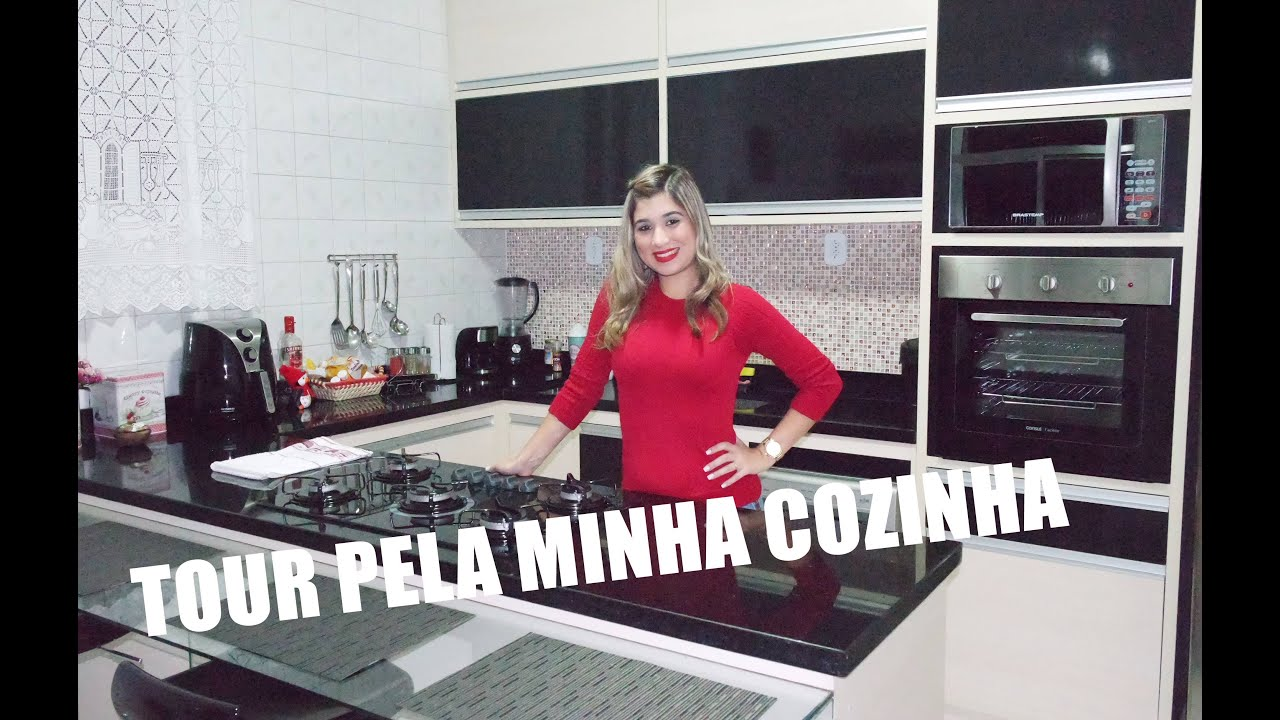 TOUR PELA MINHA COZINHA PLANEJADA  YouTube