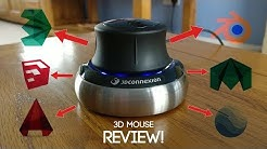 3D Mouse - Space Navigator by 3D Connexion Review