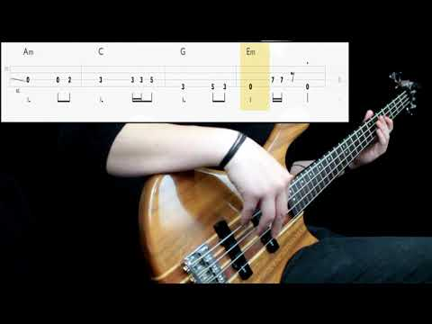Metallica - Fade To Black (Bass Only) (Play Along Tabs In Video)
