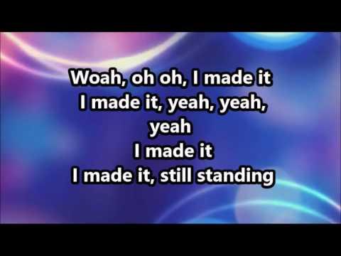 "Fantasia & Tye Tribbett ""I Made It"" lyric video"