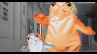 PORGS! Star Wars The Last Porg Trailer (Last Jedi Parody)