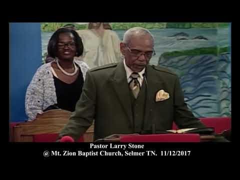 Pastor Larry Stone