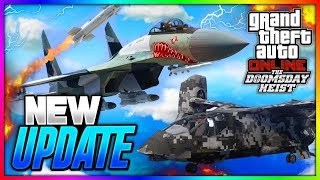 GTA 5 ONLINE THE DOOMSDAY HEIST DLC - ALL 13 NEW CONFIRMED VEHICLES, CARS , SUBMARINES & MORE