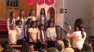 140510 Young Musicians Chorus: Tell Me Where Is Fancy Bred (Matthew Harris)