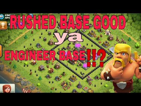 Rushed base good ya engineer//FULL INFORMATION//CLASH OF CLAN//HINDI//2017