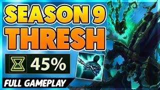 NEW CDR RUNE BROKE THRESH (CRAZY COOLDOWNS) - BunnyFuFuu Full Gameplay