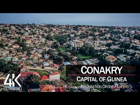 【4K】Conakry from Above 🔥 GUINEA 2021 🔥 Cinematic Wolf Aerial™ Drone Film