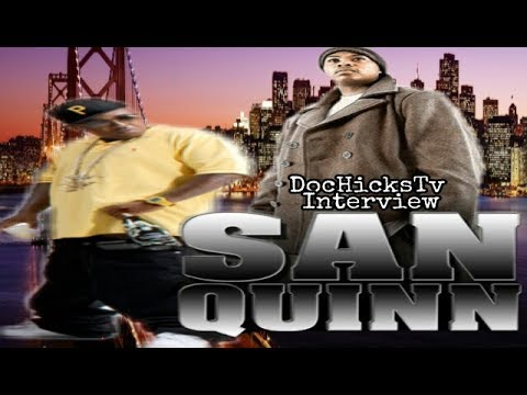 Interview: San Quinn Talks Messy Marv Reuniting + More | DocHicksTv
