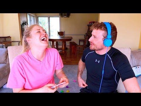 Whisper Challenge! Becca and Ryan Show!