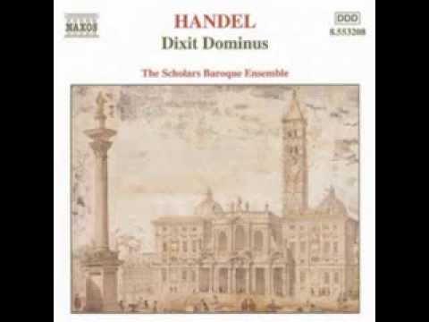 Georg Friedrich Haendel : Dixit Dominus - IX. Gloria Patri