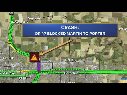Three injured in head-on crash in Forest Grove