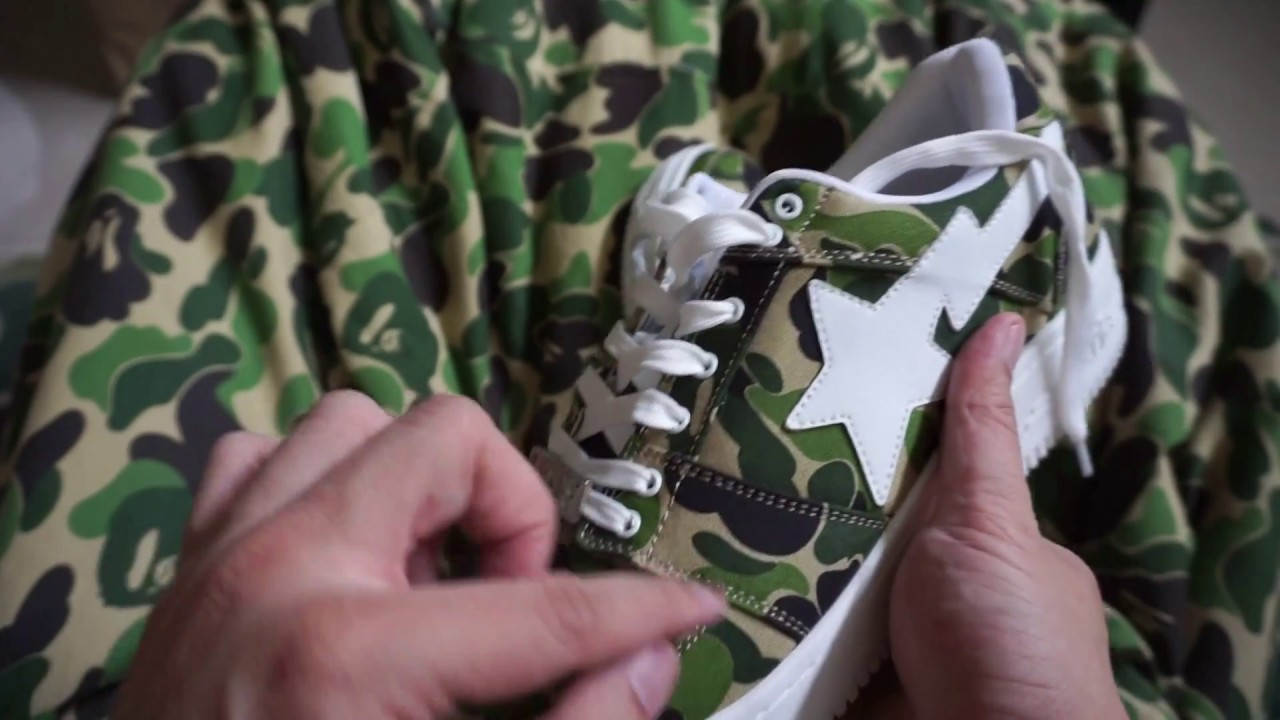 1268c7519aa5 2018 Bathing Ape BAPE ABC Camo BAPESTA Lifestyle Shoe Review! Footwear Air  Force Nike! Hypebeast