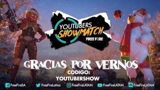 Youtubers Showmatch Navideño Freefire