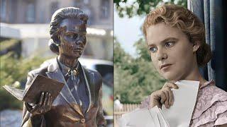 Памятники советским актерам в городах бывшего СССР
