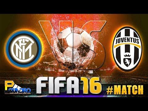 FIFA 16 #MATCH : INTER VS JUVENTUS | Pquadro Gamers