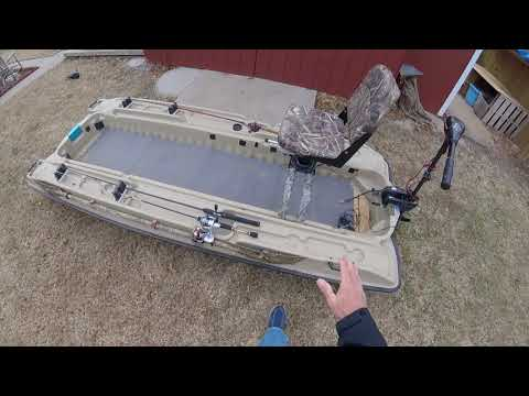 Customizing Pelican Bass Fishing Boat