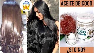 🥥ACEITE DE COCO:Bueno o malo? Para nuestros cabellos y piel/Lo que dicen los estudios más recientes